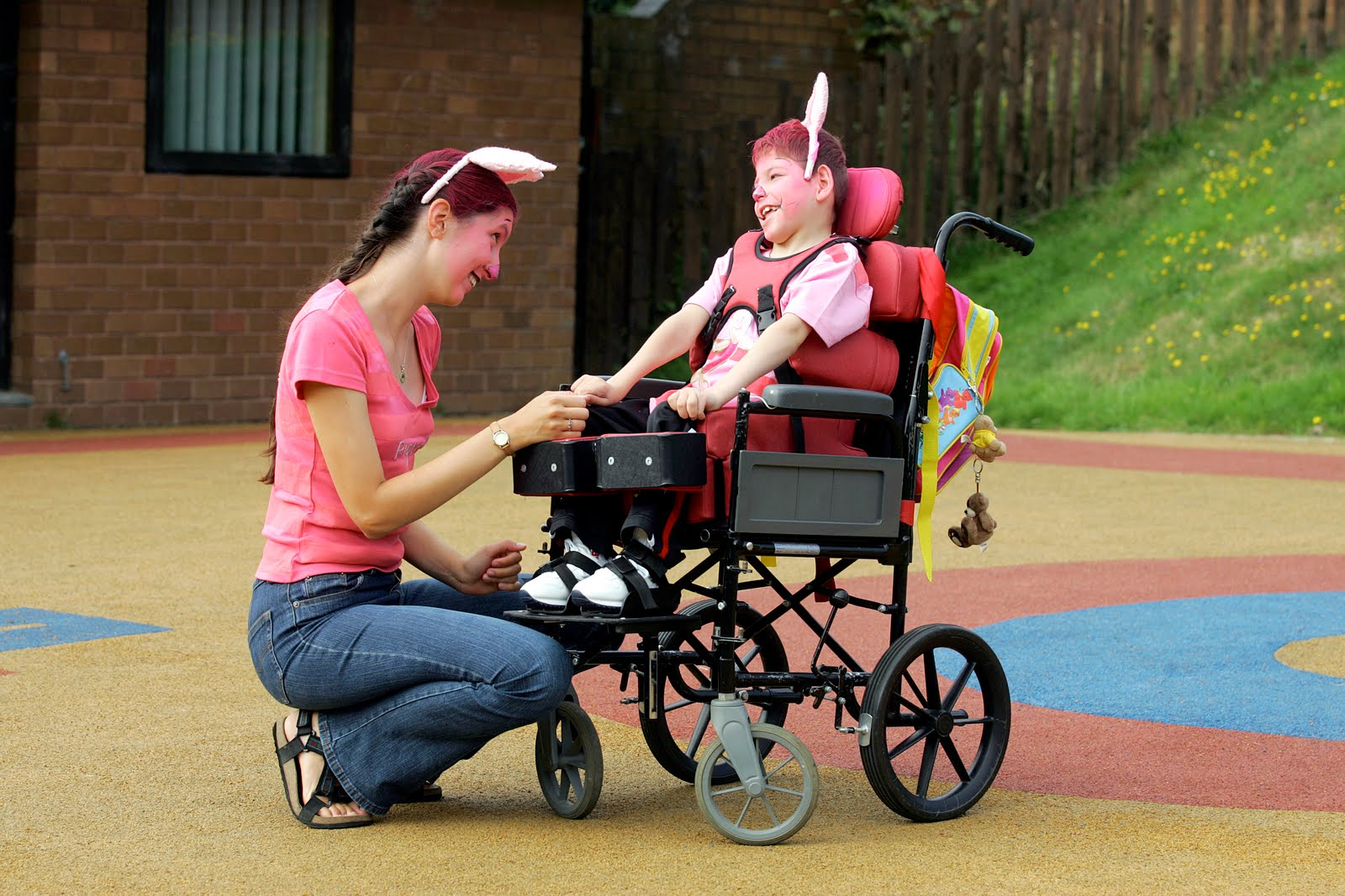 supporting disabled children Most parents are familiar with the stresses of child rearing, but there is a special set of tribulations known only to parents of children with disabilities.