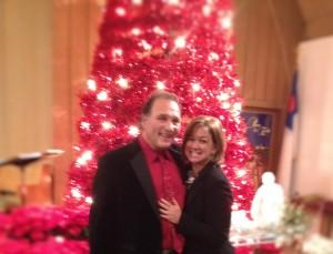 Paul & me after Christmas Eve worship.